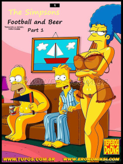 Los Simpsons:Football and Beer Part 1