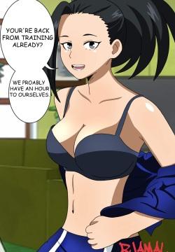 Yaoyorozu hentai momo Thirty More