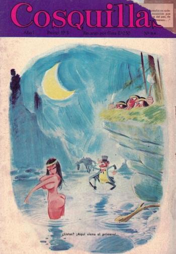 Revista Cosquillas N° 34 (spanish) cover